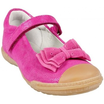 Chaussures Fille Baskets mode Mod'8 Mod8 Babies Koralie Fuchsia Rose