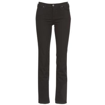 Vêtements Femme Jeans droit Lee MARION STRAIGHT Noir