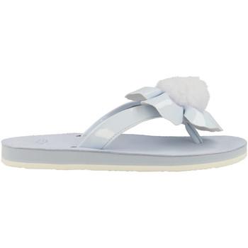 Chaussures Femme Tongs UGG Tong  Poppy - Bleu