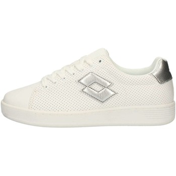 Chaussures Femme Baskets basses Lotto T4008 Sneakers Femme Blanc Blanc