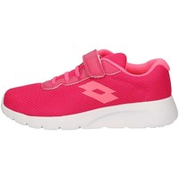 Chaussures Fille Baskets basses Lotto T4258 Sneakers Enfant FUCSIA FUCSIA