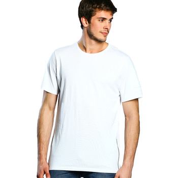 Vêtements Femme T-shirts manches courtes Paname Brothers T-shirt Homme - TAL_WHITE Blanc