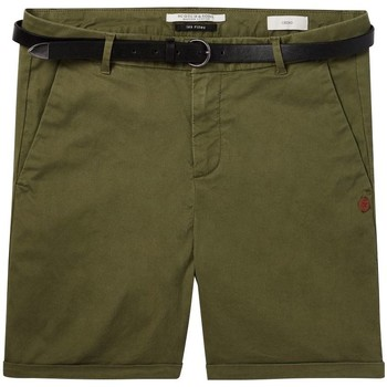 Vêtements Femme Shorts / Bermudas Maison Scotch SHORT CHINO STRETCH AVEC CEINTURE KAKI