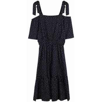 Vêtements Femme Robes courtes Frnch Robe apolline Bleu marine