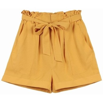 Vêtements Femme Shorts / Bermudas Frnch Short doriane Jaune