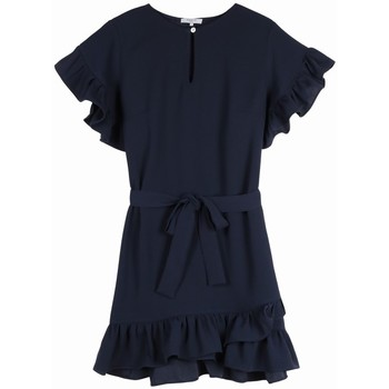 Vêtements Femme Robes Frnch Robe armandine Bleu marine