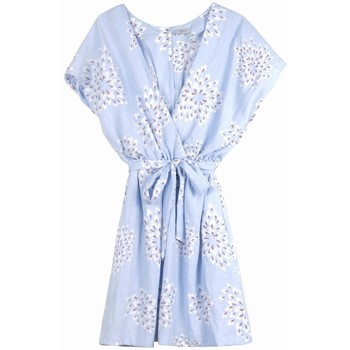 Vêtements Femme Robes Frnch Robe anane Bleu