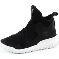 Chaussures Enfant Baskets montantes adidas Originals TUBULAR X PK J Noir