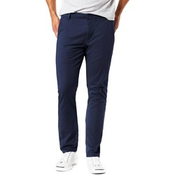 Vêtements Homme Chinos / Carrots Dockers ALPHA 4 WAY STRETCH CHINO bleu