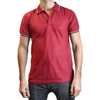 Vêtements Homme Polos manches courtes Kebello Polo 856 rouge