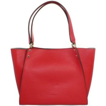 Sacs Sacs porté épaule Pourchet Sac porté épaule  en cuir ref_pou41939 Rouge 36*23*9 rouge