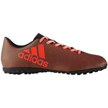 Chaussures Homme Football adidas Originals X 174 TF Pyro Storm Rouge-Noir