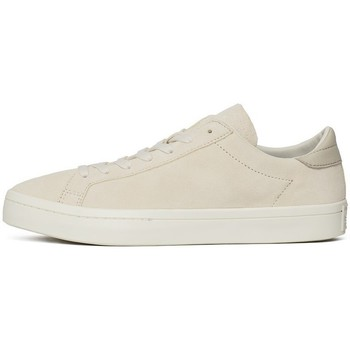 Chaussures Homme Baskets basses adidas Originals Court Vantage Creme