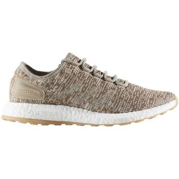 Chaussures Homme Ville basse adidas Originals Pureboost Gris-Marron