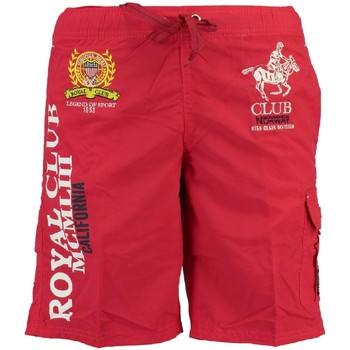 Vêtements Garçon Maillots / Shorts de bain Geographical Norway Maillot de Bain Enfant Queen Rouge