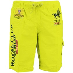 Vêtements Garçon Maillots / Shorts de bain Geographical Norway Maillot de Bain Enfant Queen Jaune