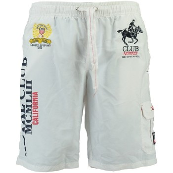 Vêtements Garçon Maillots / Shorts de bain Geographical Norway Maillot de Bain Enfant Queen Blanc
