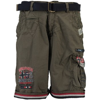 Vêtements Garçon Shorts / Bermudas Geographical Norway Bermuda Enfant Parodie Gris