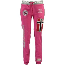 Vêtements Fille Pantalons de survêtement Geographical Norway Jogging Enfant Myer Rose