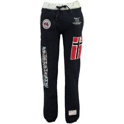 Vêtements Fille Pantalons de survêtement Geographical Norway Jogging Enfant Myer Marine