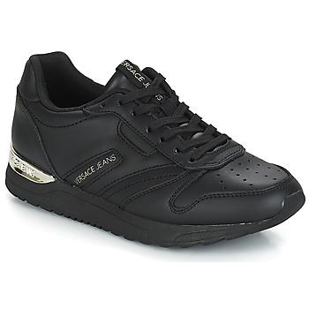 Chaussures Femme Baskets basses Versace Jeans TAPADO Noir