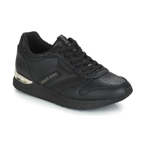 Chaussures Femme Baskets basses Versace Jeans Couture TAPADO Noir