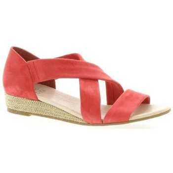 We Do Nu pieds cuir velours Rose - Chaussures Sandale Femme