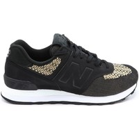 Chaussures Femme Baskets mode New Balance BASKET WL574 B NOIR/MULTICOLOR