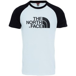 Vêtements Homme T-shirts manches courtes The North Face M Ss Raglan Easy Tee Blanc