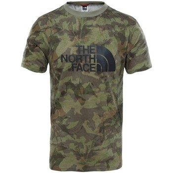 Vêtements Homme T-shirts manches courtes The North Face Mens S/s Easy Tee Kaki