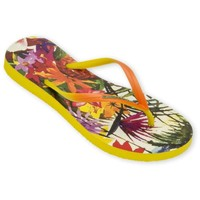 Chaussures Femme Tongs Amazonas Tongs Enjoy Flip Flop Paraiso Jaune JAUNE