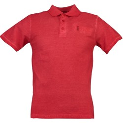 Vêtements Homme Polos manches courtes Geographical Norway Polo Homme Kastaldi Rouge