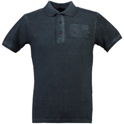 Vêtements Homme Polos manches courtes Geographical Norway Polo Homme Kastaldi Bleu