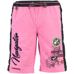 Vêtements Garçon Maillots / Shorts de bain Geographical Norway Maillot de Bain Enfant Quoriminel Rose