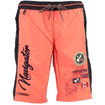 Vêtements Garçon Maillots / Shorts de bain Geographical Norway Maillot de Bain Enfant Quoriminel Orange