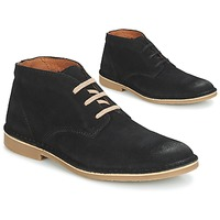 Chaussures Homme Boots Selected ROYCE DESERT SUEDE BOOT Noir