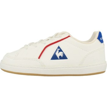 Chaussures Fille Baskets basses Le Coq Sportif ICONS INF SPORT GUM Blanc