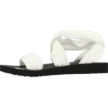 Chaussures Femme Sandales et Nu-pieds Skechers MEDITATION SILLY SKY Blanc