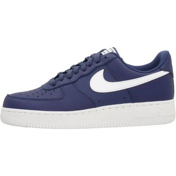 Chaussures Homme Baskets basses Nike AIR FORCE 1 07 Blue