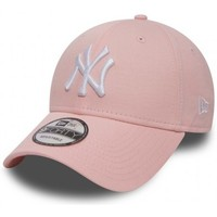 Accessoires textile Casquettes New Era CASQUETTE  LEAGUE ESSENTIAL 940 NEW YORK YANKEES / ROSE Rose