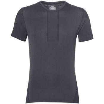 Vêtements Homme T-shirts manches courtes Asics Tee-shirt  Gel-Cool Seamless SS - Ref. 154571-0779 Gris