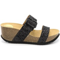 Chaussures Femme Mules Take Me SANDALE COMPENSEE WILL 030 C283 NOIR