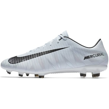 Chaussures Homme Football Nike Mercurial Veloce Iii CR7 FG Blanc