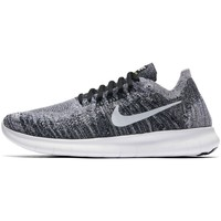 Chaussures Femme Baskets basses Nike Wmns Free RN Flyknit 2017 Gris