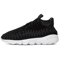 Chaussures Homme Baskets basses Nike Air Footscape Woven Noir