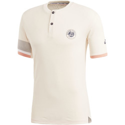 Vêtements Homme T-shirts manches courtes adidas Performance T-shirt Roland Garros Climachill white