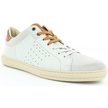 Chaussures Homme Baskets basses Kickers SNIFF Blanc Casse