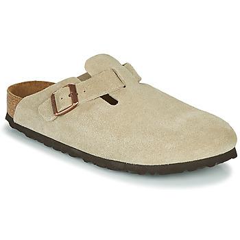 Chaussures Femme Sabots Birkenstock BOSTON SFB Taupe