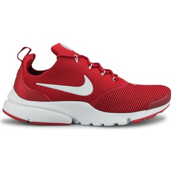Chaussures Homme Baskets basses Nike Presto Fly Rouge Rouge