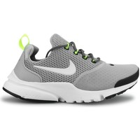 Chaussures Garçon Baskets basses Nike Presto Fly Junior Gris Gris